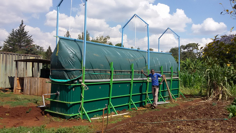 Biogas: an innovative digester improves agricultural activities in rural areas of Kenya