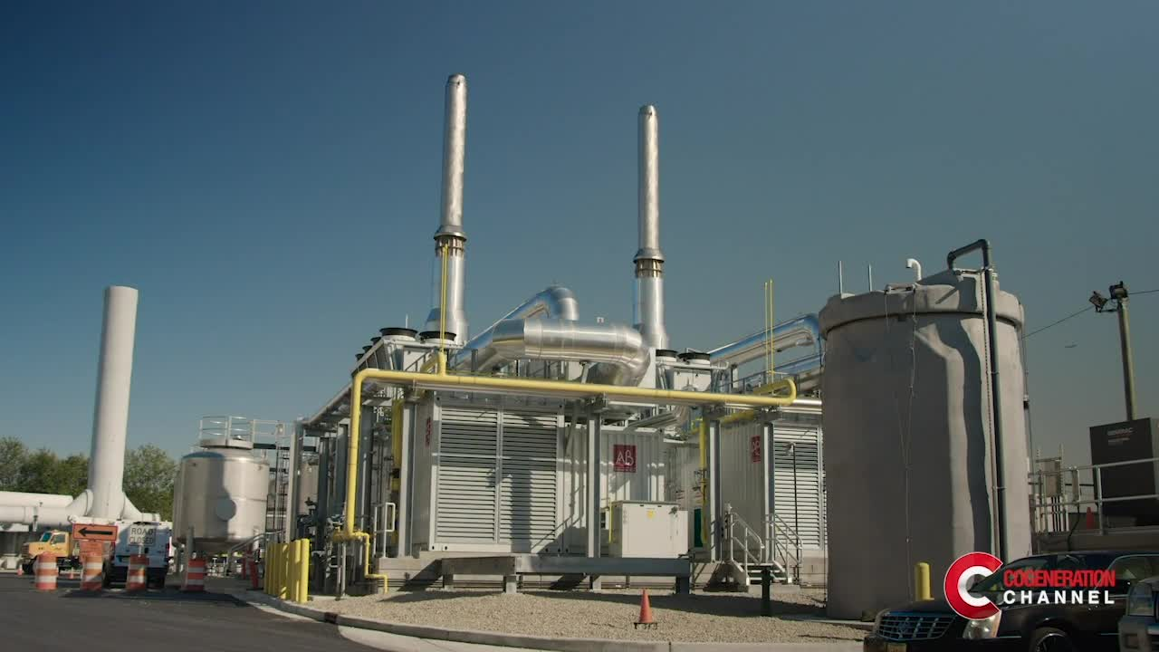 A dual fuel CHP plant at the CCMUA wastewater treatment facility
