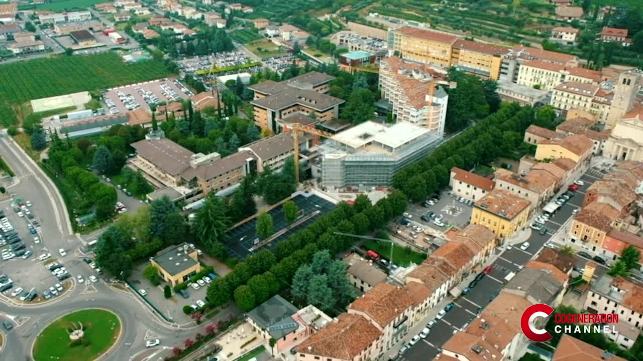 """Cittadella della Carità"" goes ethical: a cogeneration plant for a more sustainable hospital"