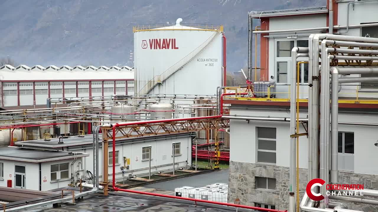 Vinavil in prima linea per un'industria chimica efficiente