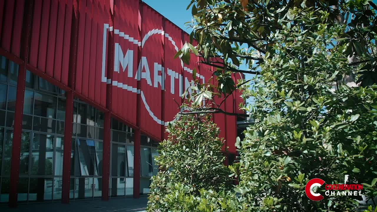 Brand of excellence in the beverage industry aims at energy savings and sustainability using cogeneration: the Martini & Rossi case