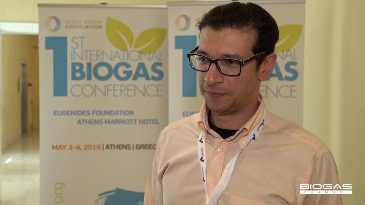 Biogas cogeneration to destroy the pathogens from animal by-products