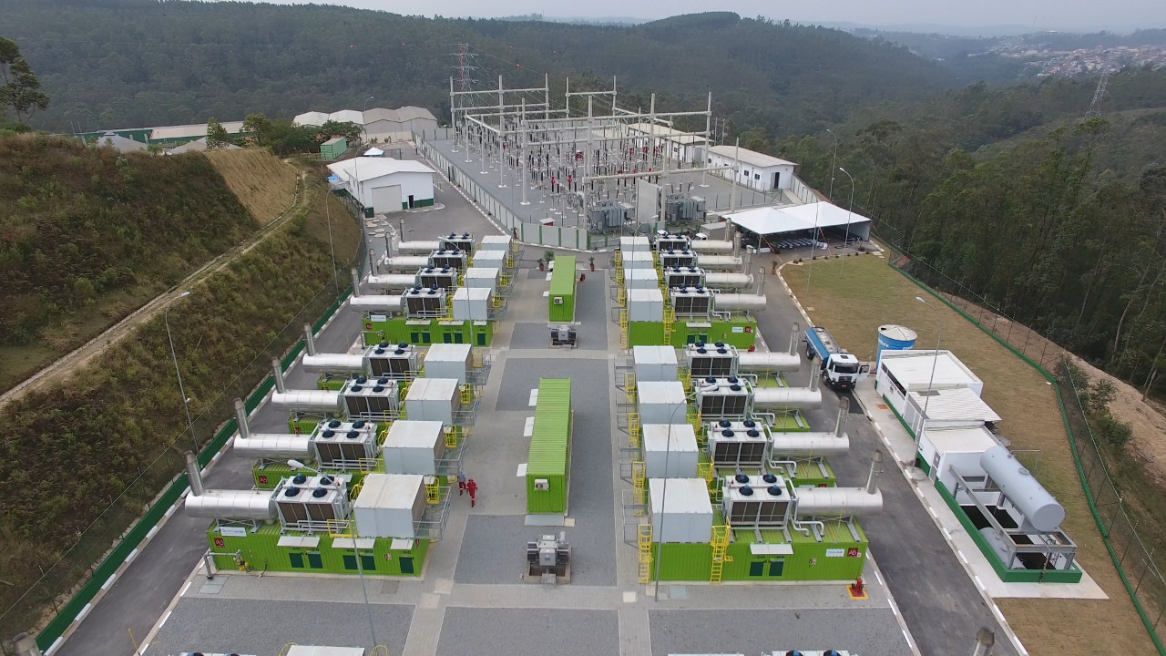 Brazil: a 29.5MW landfill biogas plant, one of the biggest in the world