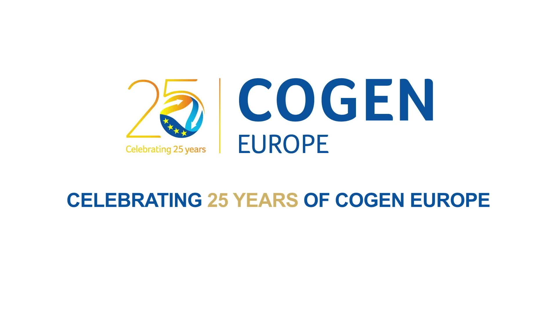 COGEN Europe celebrates its 25th anniversary!